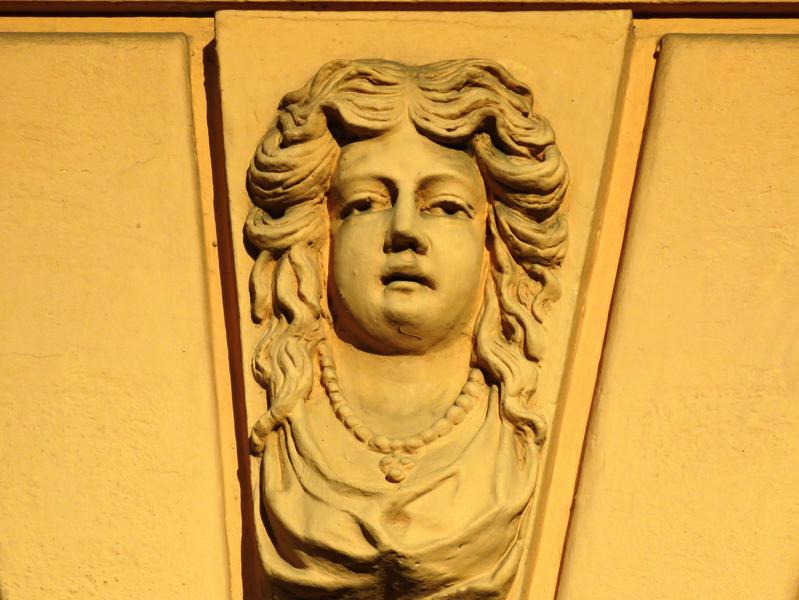 6. Domovní maskarony, Uherské Hradiště