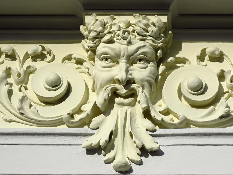3. Domovní maskarony, Uherské Hradiště