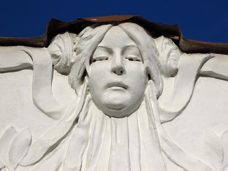 4. Domovní maskarony, Uherské Hradiště