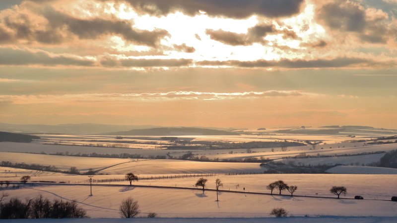 Zimní krajina od Rubanisk U.B.