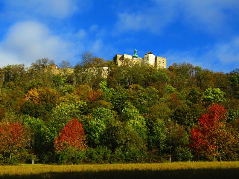 podzim pod Buchlovem