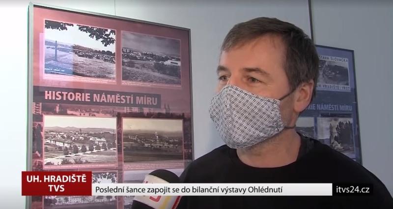 REPORTÁŽ TVS K VÝSTAVĚ OHLÉDNUTÍ 2020