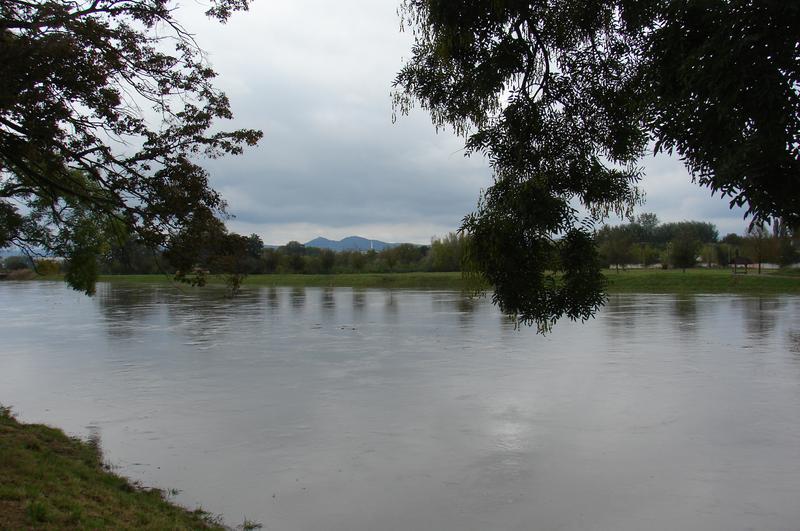 Morava při velké vodě