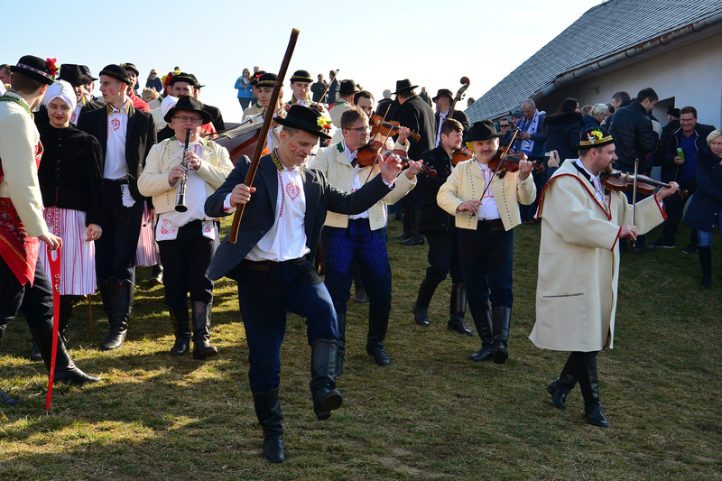 Skanzen Rochus - masopustní tradice 4.