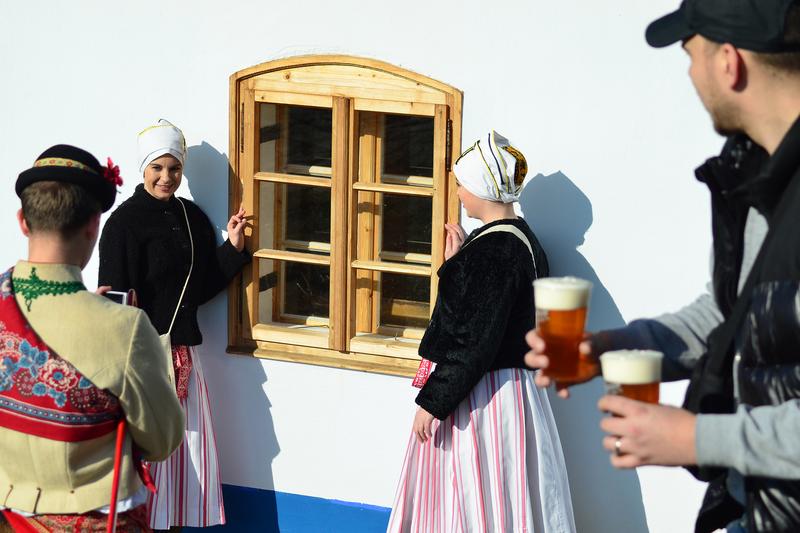 Skanzen Rochus - masopustní tradice