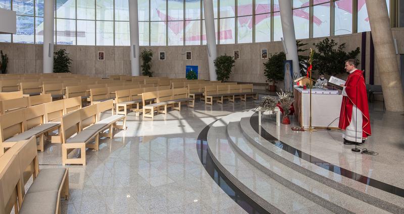 Bohoslužba o Květné neděli - bez účasti věřících - on-line
