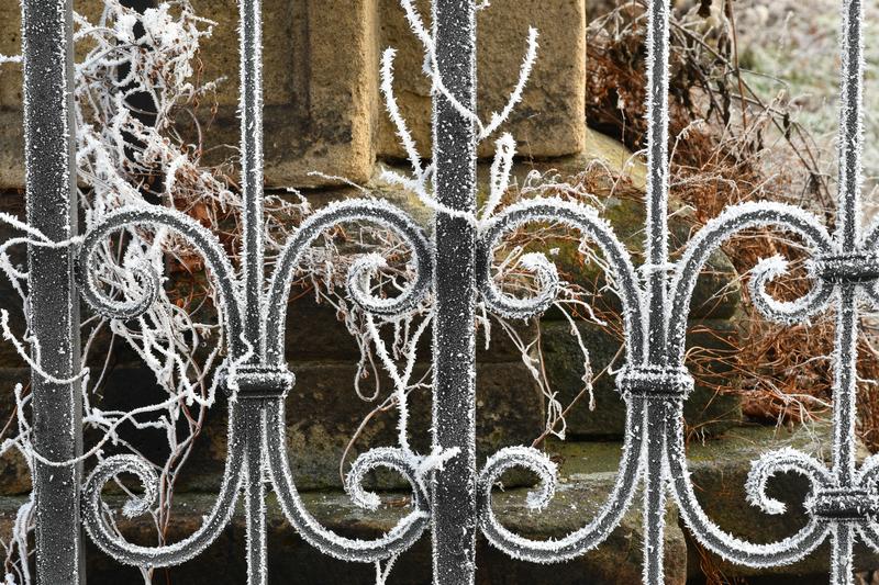 Brána do zahrady zámku Napajedla