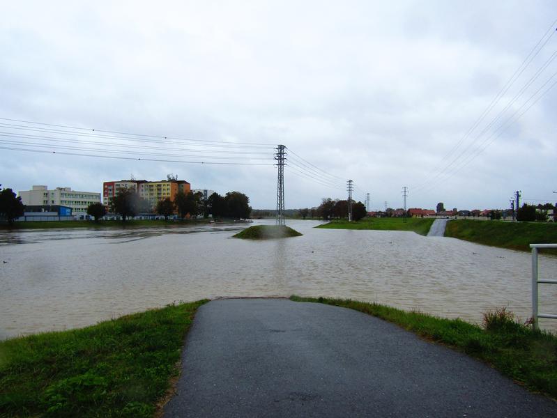 Morava opět hrozí zvednutou hladinou