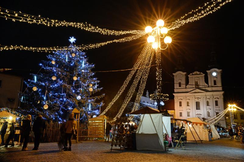 Vánoční trhy - stromeček