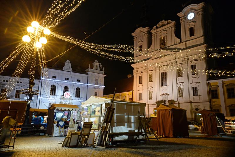 Vánoční trhy - zatajený dech