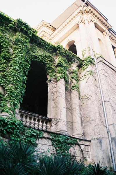 Sloučení architektury a přírody